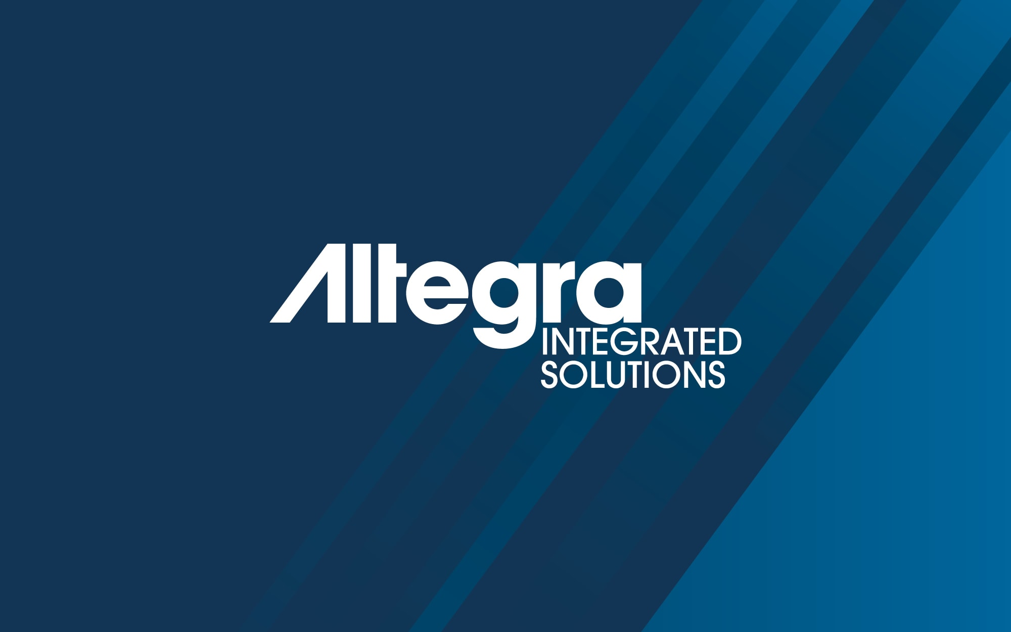 Altegra Integrated Solutions Brand Identity