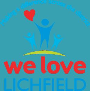 We Love Lichfield Logo